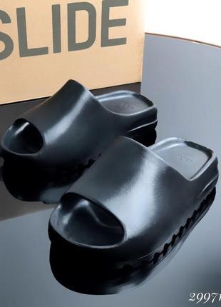 Шлепанцы хит 2021.люкс качество цвет: черный материал: пена-полимер