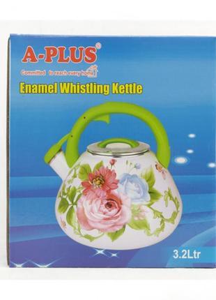 Чайник эмалированный a-plus 3.2 л