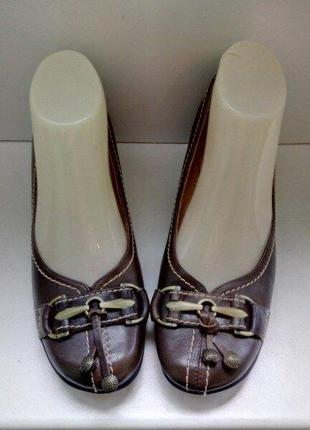 Туфли элегантные кожаные бренда staccato, р. 36,5 - 37