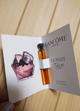 Духи парфюм аромат la nuit tresor от lancome ☕ объём 5мл