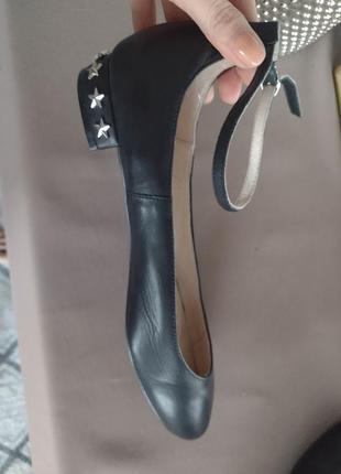 Office кожаные туфли балетки стильные оригинал