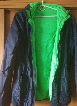 Двухсторонняя деми куртка