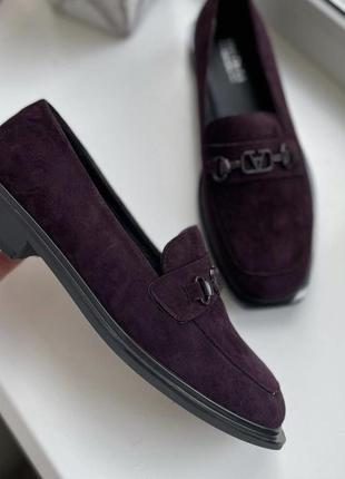 Лоферы балетки туфли квадратный носок