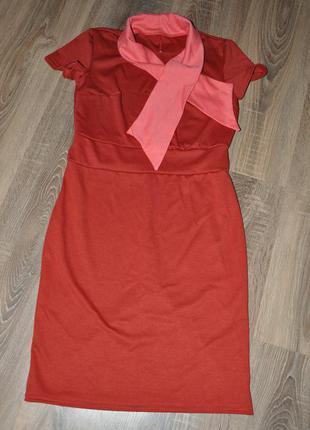 Платье из французского трикотажа