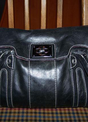 220грн!сумка  clarks 100%кожа люкс 21*38см