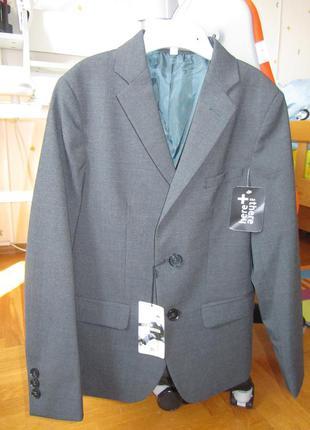 Люксовый полушерстяной пиджак here&there с сайта c&a р 140