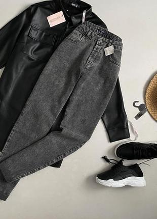 Новые трендовые мом джинсы kiabi