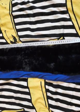 Воротник чёрный с искусственного меха