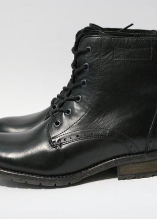 Зимние ботинки highland creek кожа