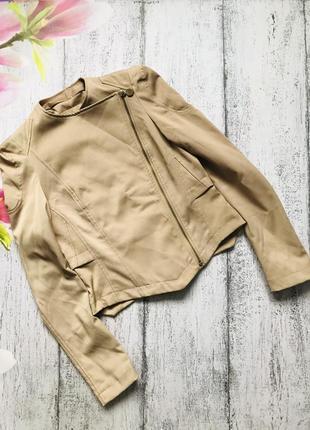 Крутая тканевая косуха куртка размер s