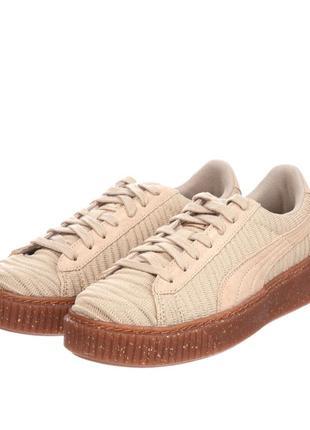 Новые женские кроссовки puma, оригинальные, размер 39, натуральная замша