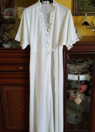 Нежное будуарное платье - халат