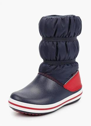 В наявності оригінальні чобітки crocs для дитини.