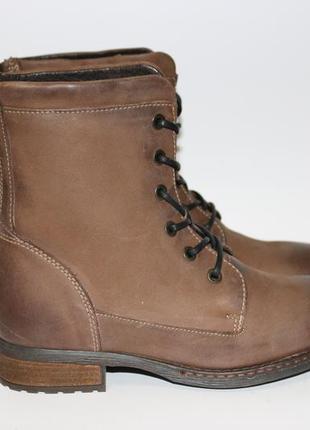 Зимние ботинки c&g 37р кожа