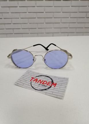 Солнцезащитные очки круглые с шорами
