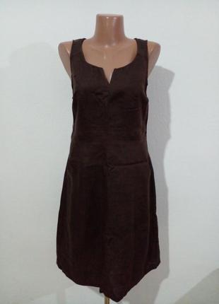 Лаконичное льняное платье