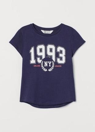 Стильная футболочка h&m