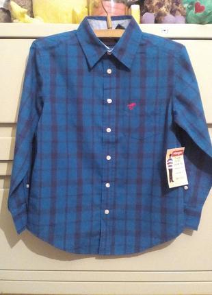 Фирменная рубашка 8 и 10-12 лет