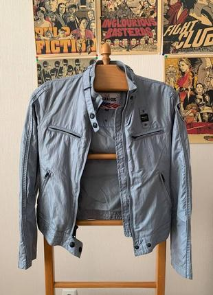 Blauer usa 🇺🇸 винтажная американская мотокуртка бомбер
