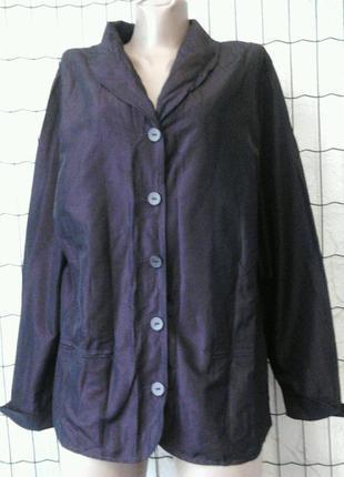 Тонкий пиджак фиолетовый