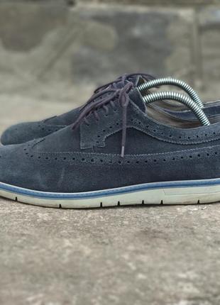 Geox мужские туфли броги оксфорды