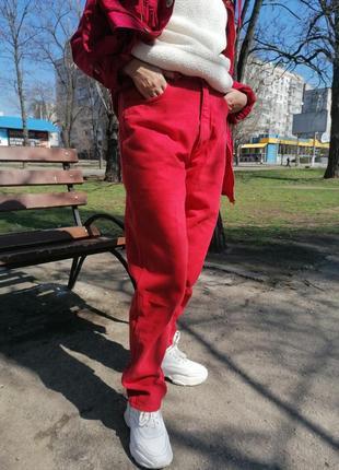 ❗акция 1 +1=3❗фирменные модные mom джинсы wrangler