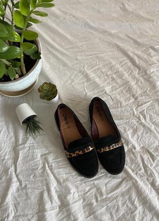 Туфли закрытые лоферы дерби оксфорды монки замшевые
