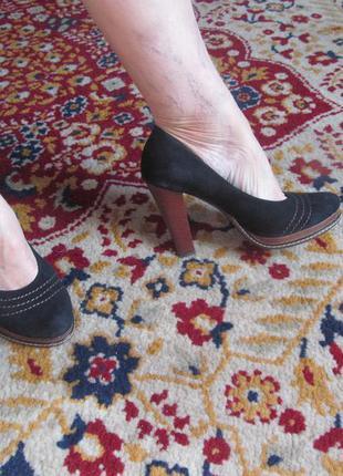 Супер туфельки,удобные на высоком каблуке