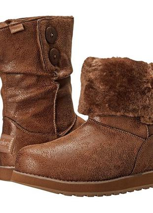 Женские зимние угги ботинки сапоги skechers winter boot 8 американский 38