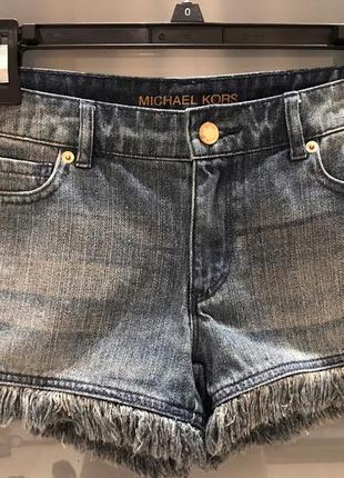 Джинсовые шорты michael kors
