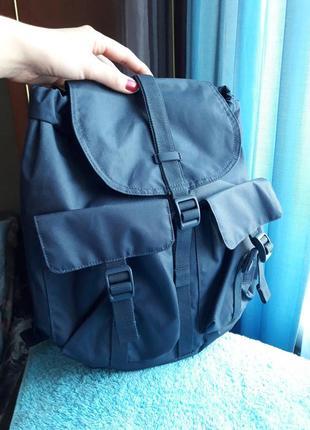 Фирменный дизайнерский рюкзак синий herschel dawson новый америка