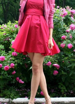 Шикарное платье солнце