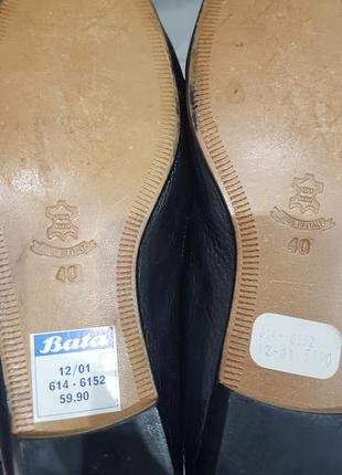 Bata кожаные туфли2 фото