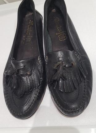 Bata кожаные туфли3 фото