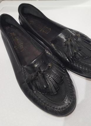 Bata кожаные туфли6 фото