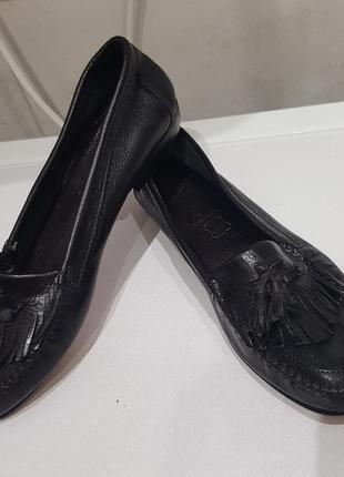 Bata кожаные туфли9 фото