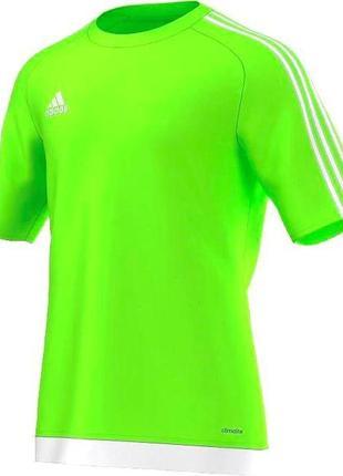 6-8 яркая неоновая футболка для спорта фитнеса adidas climalite® controle