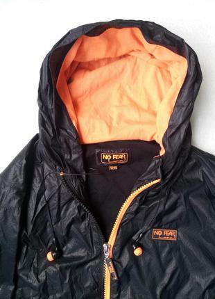 Новая куртка-ветровка с капюшоном унисекс с встроенными наушниками