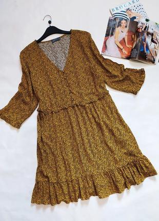 Классное натуральное платье свободного кроя !