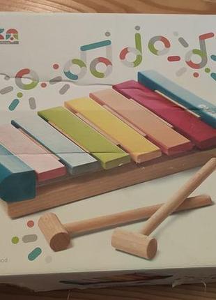 Cubika музичний ксилофон; цимбали; дитяча іграшка стукалка