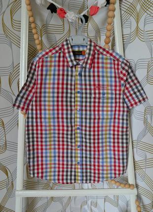 Рубашка ben sheman на мальчика 9-10 лет/134-140 см