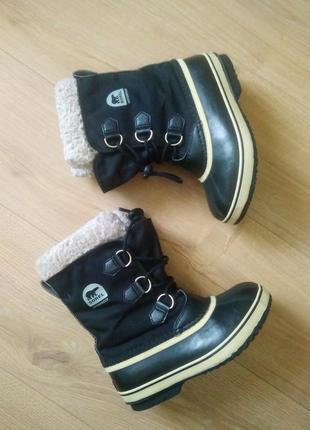 Оригінальні водостійкі чоботи sorel / качественные ботинки