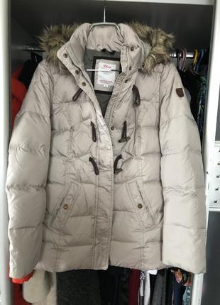 Куртка пуховик от s.oliver