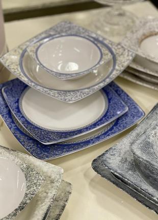 Набор фарфоровых тарелок 💎