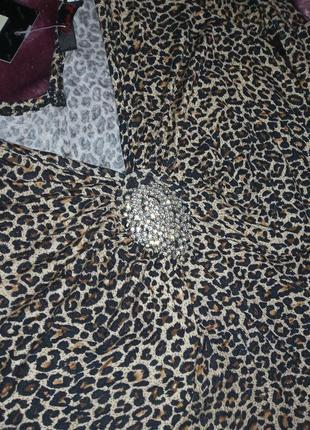 Кофточка леопардовая2 фото