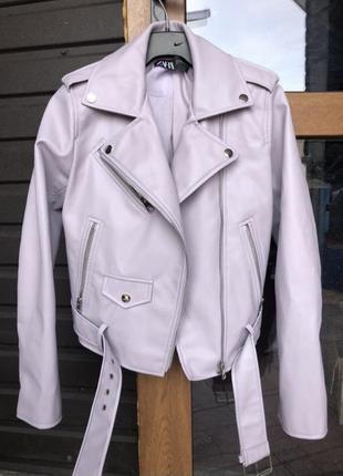 Курточка косуха новая зара. замеры указала