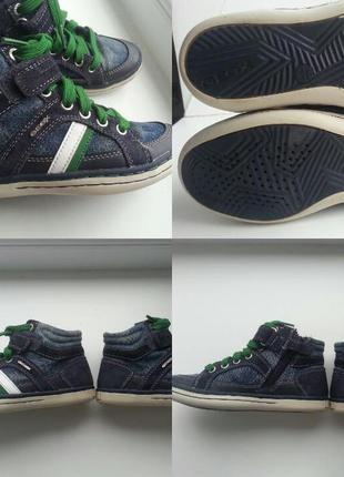 Кросовки  кеды кожаные geox 29 (18.0)
