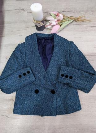 Шерстяной пиджак р.м-l