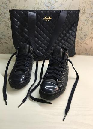 Ботинки geox + сумочка бонусом