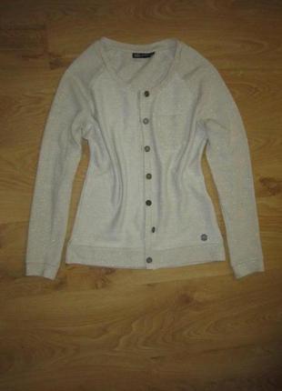 Фирменный свитер на пуговицах 42-44 хс-с размера